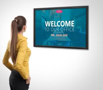 PowerPoint Digital Signage using Presentation Point