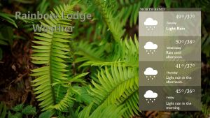 RL - Weather Page