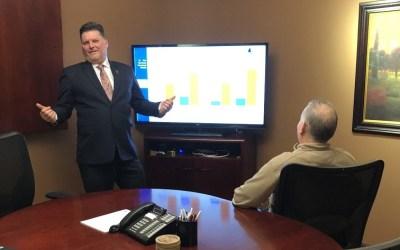 How a Financial Services Company Automates Presentations