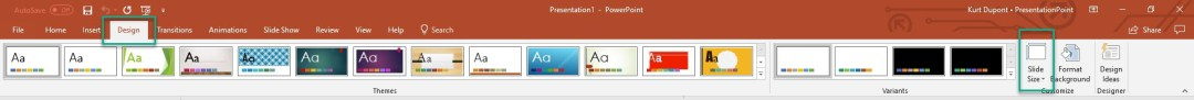 Maximum powerpoint resolution test