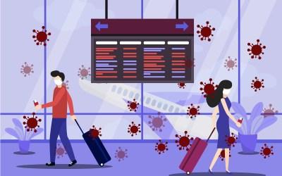 Travel & Health Care Digital Signage – Coronavirus