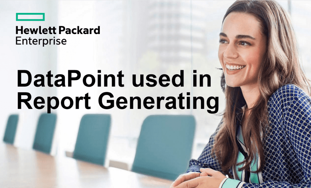automated report generating case study HPE