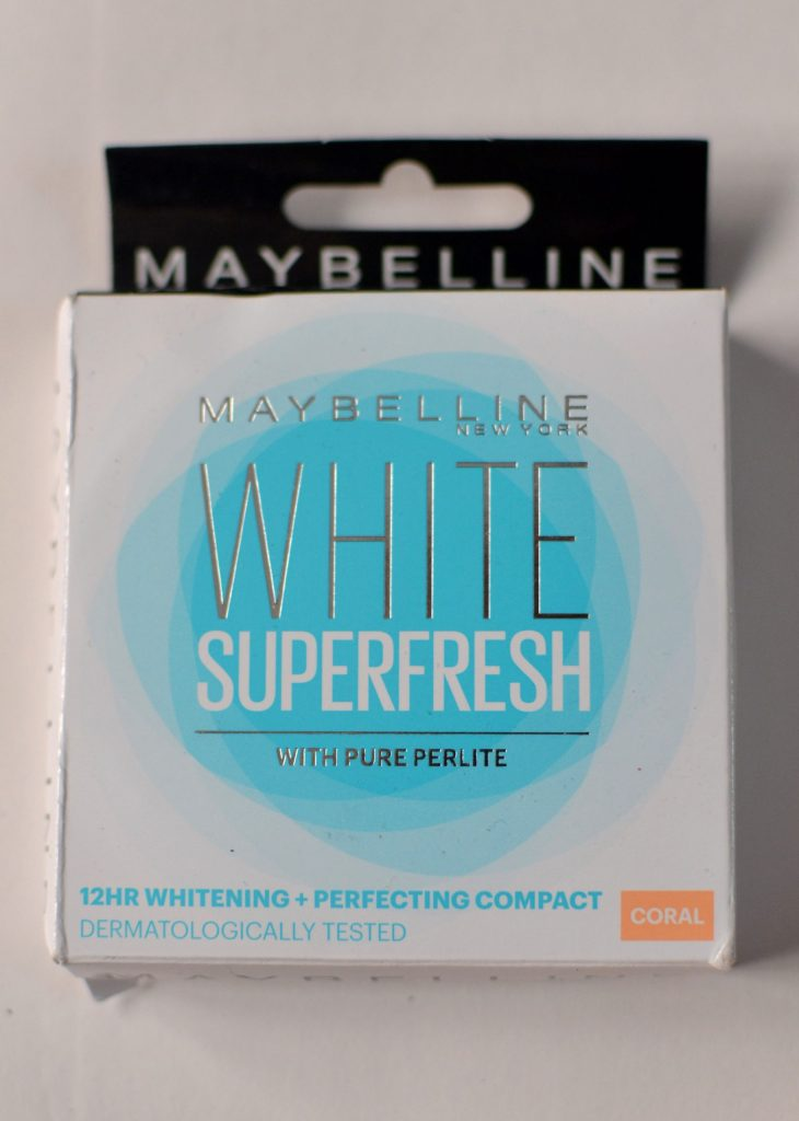 Maybelline White Superfresh 12 Hour Whitening + Perfecting Compact
