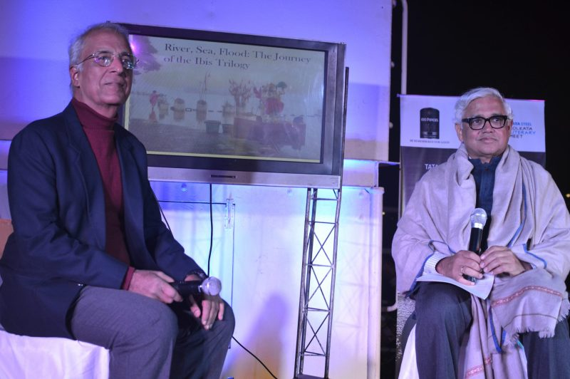 Pradee Kakkar and Amitav Ghosh
