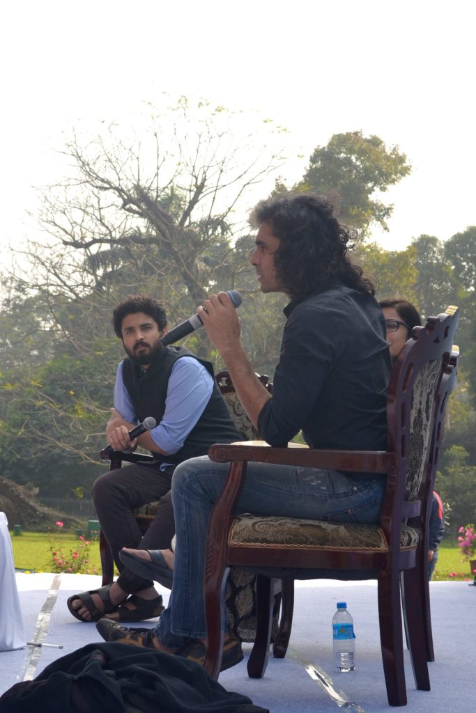 Imtiaz Ali answers a question