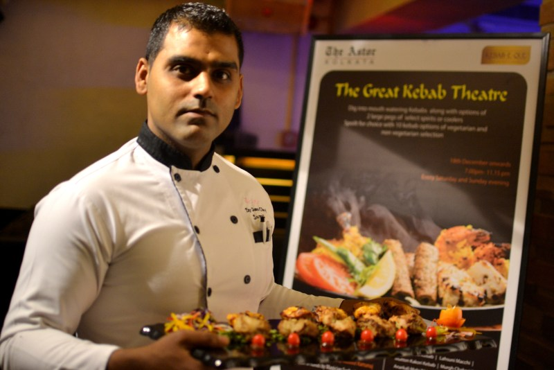 Chef Sumeet of Kebab-e-Que, Astor