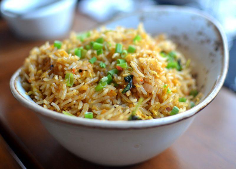 Hot Basil Bird's Eye Chilles Chicken Fried Rice
