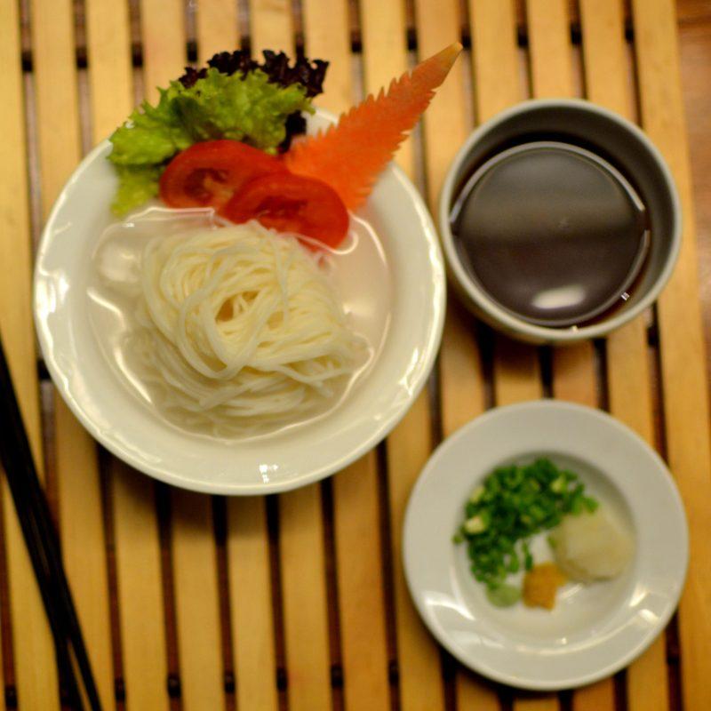 Hiyashi Somen - cold somen noodles