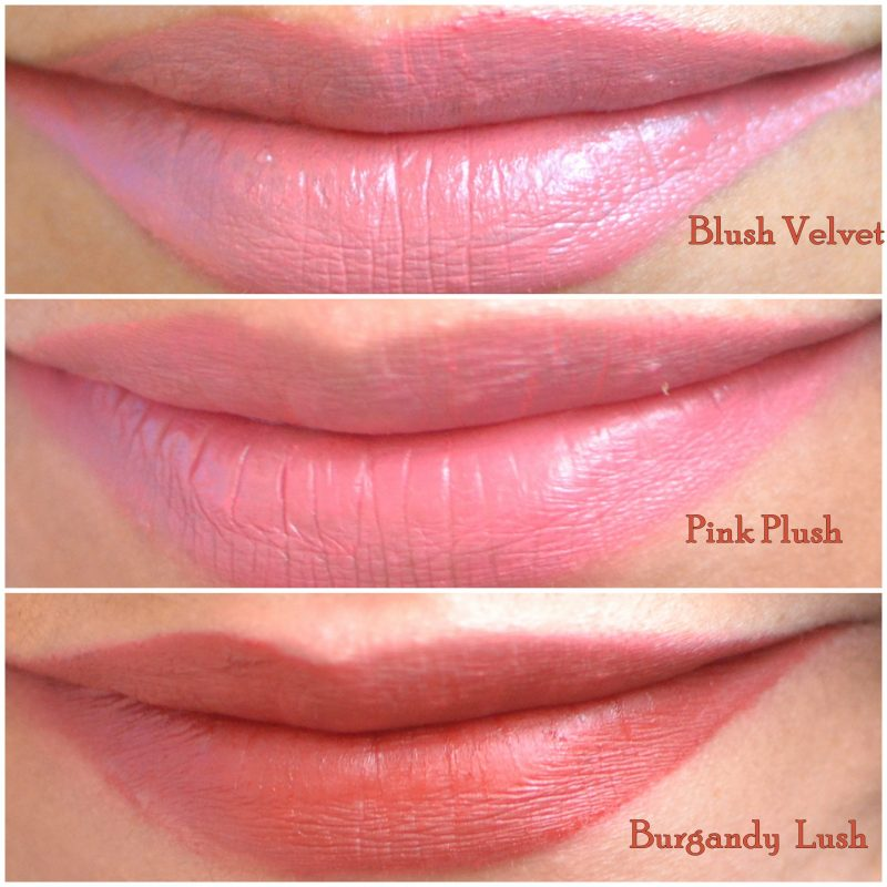 Lakme 9 to 5 Weightless Matte Mousse Lip and Cheek Color swatches