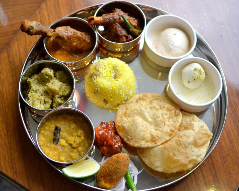 Bengali Thali at Kalash, HHI