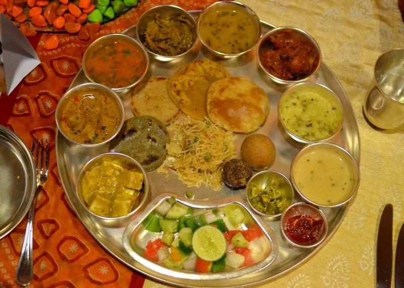 Vegetarian Thali ITC