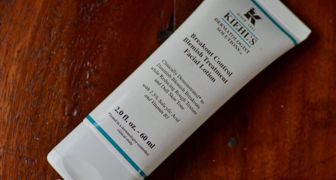 Kiehl's Breakout Control Acne Treatment Facial Lotion