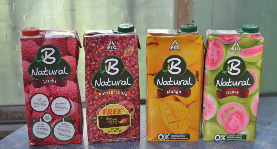 B Natural juices