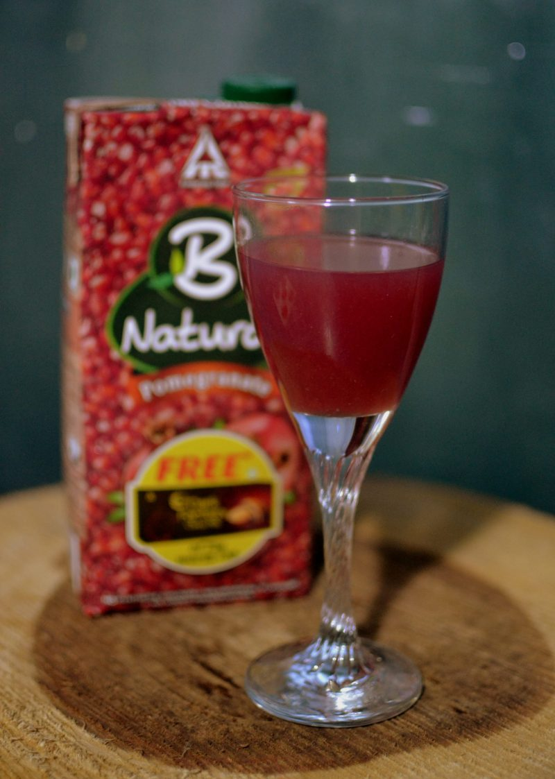 B Natural juice pomegranate