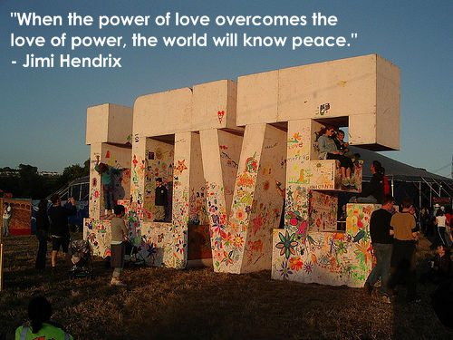 Inspiring quote from Jimi Hendrix