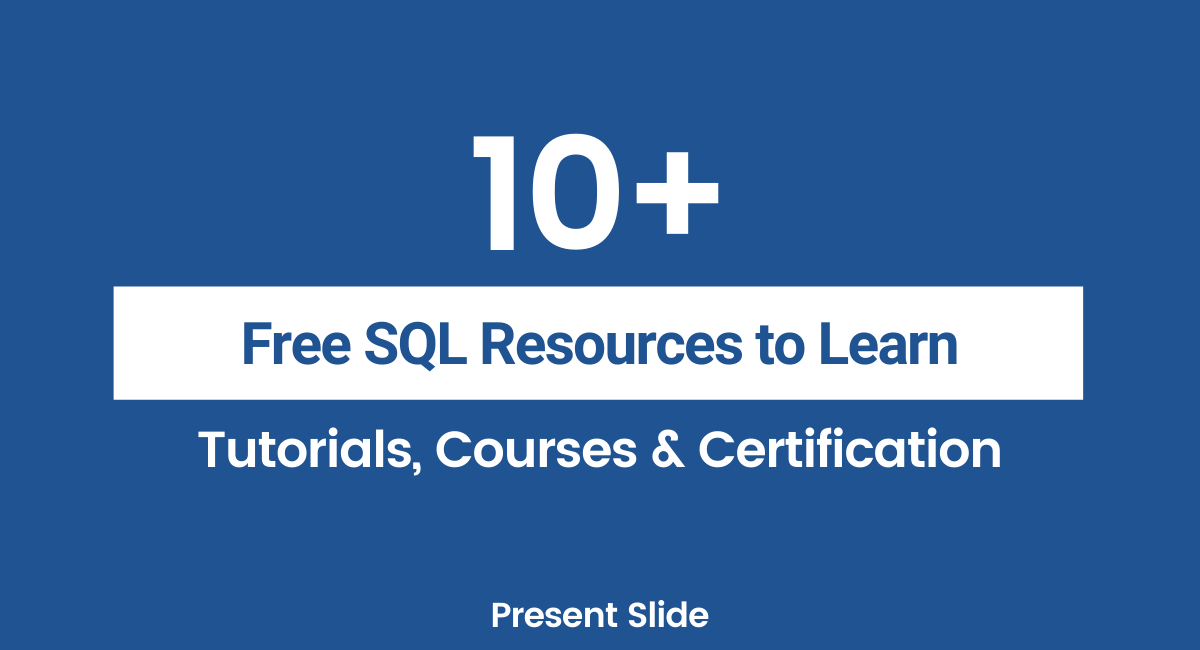 Free SQL Courses and Certifications