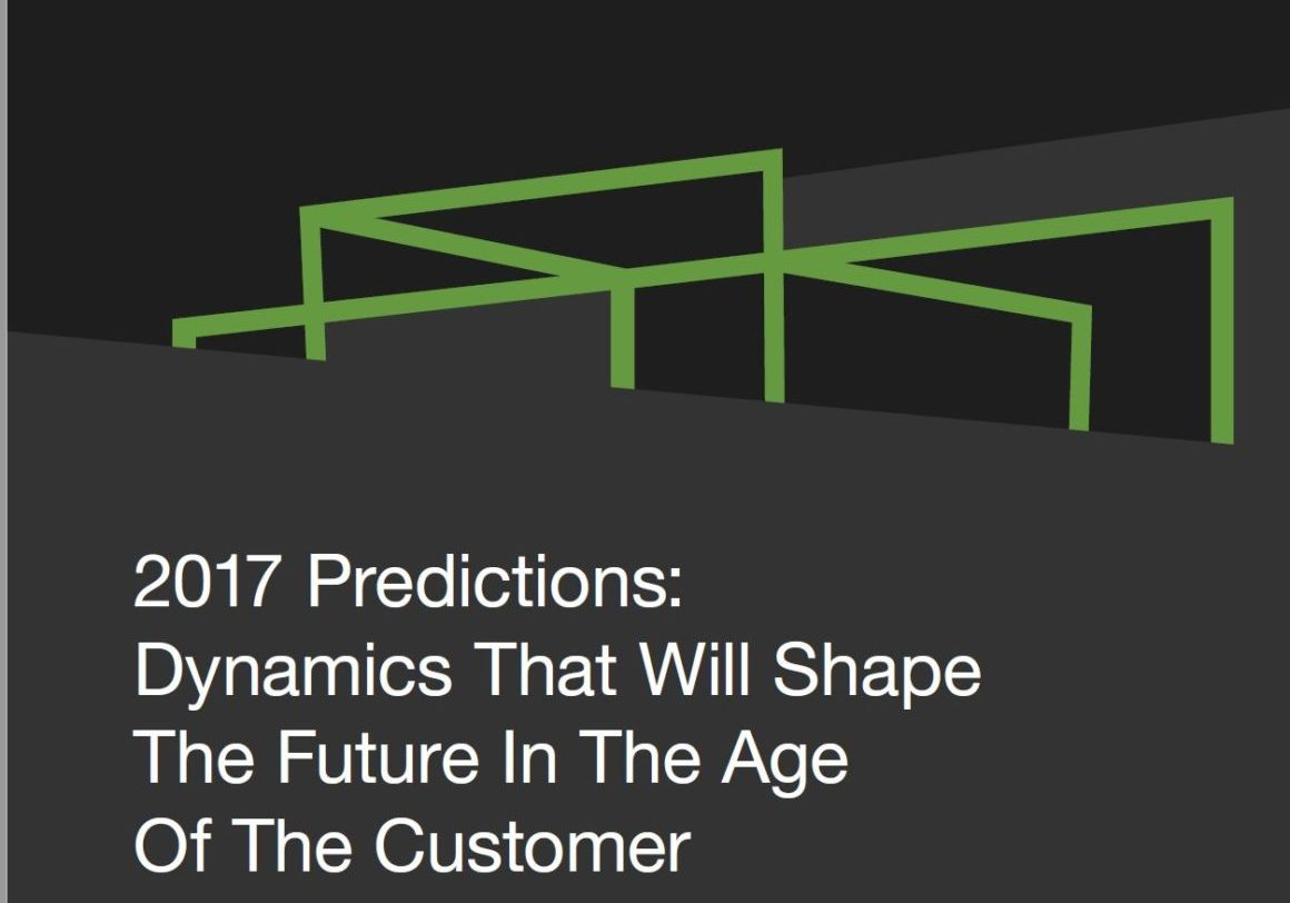 Forrester 2017 Predictions
