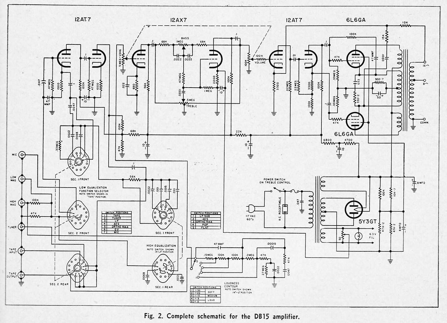 Wrg Vacuum Tube Schematic Diagram