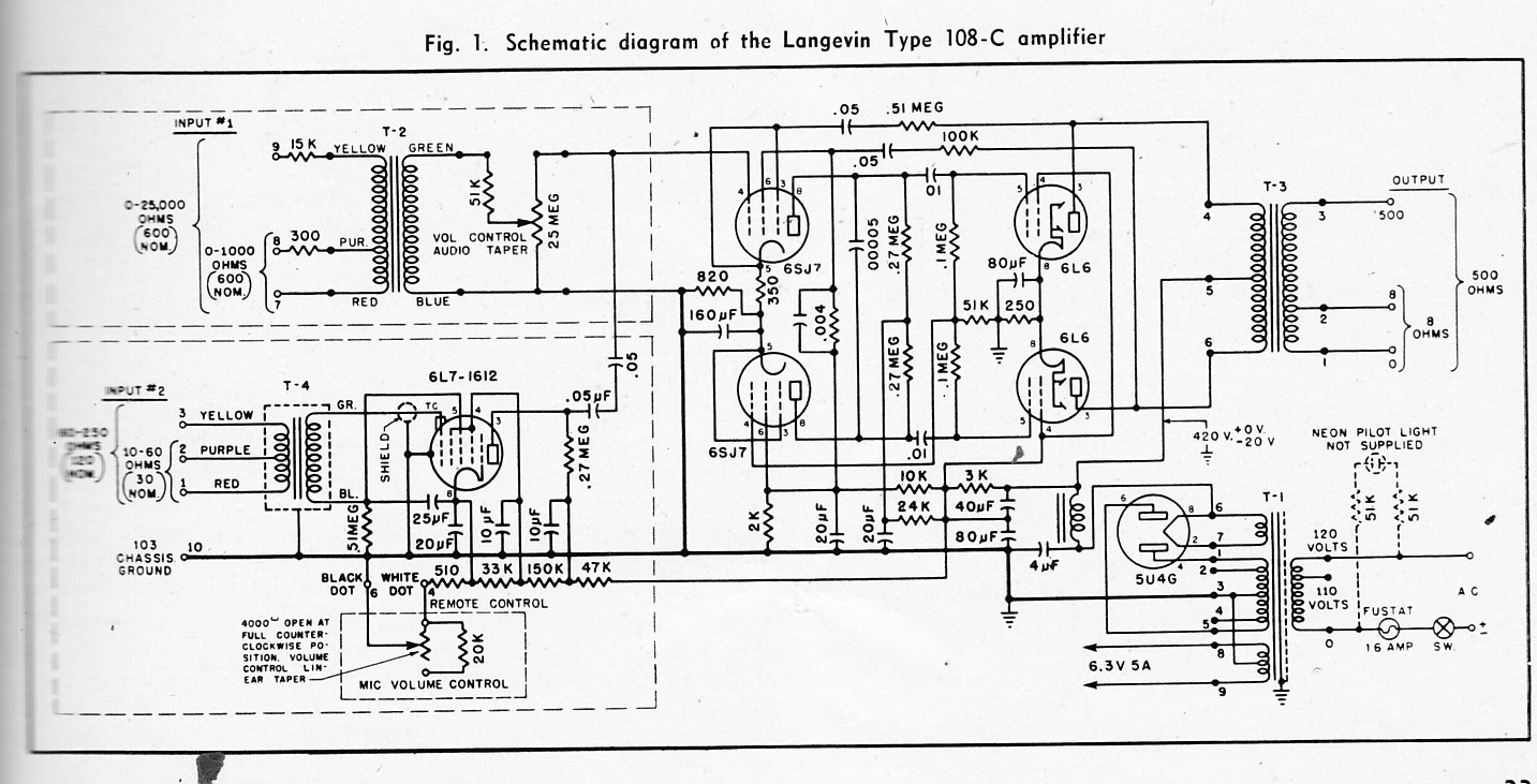 Audio Engineering Magazine Pt 4 Schematics
