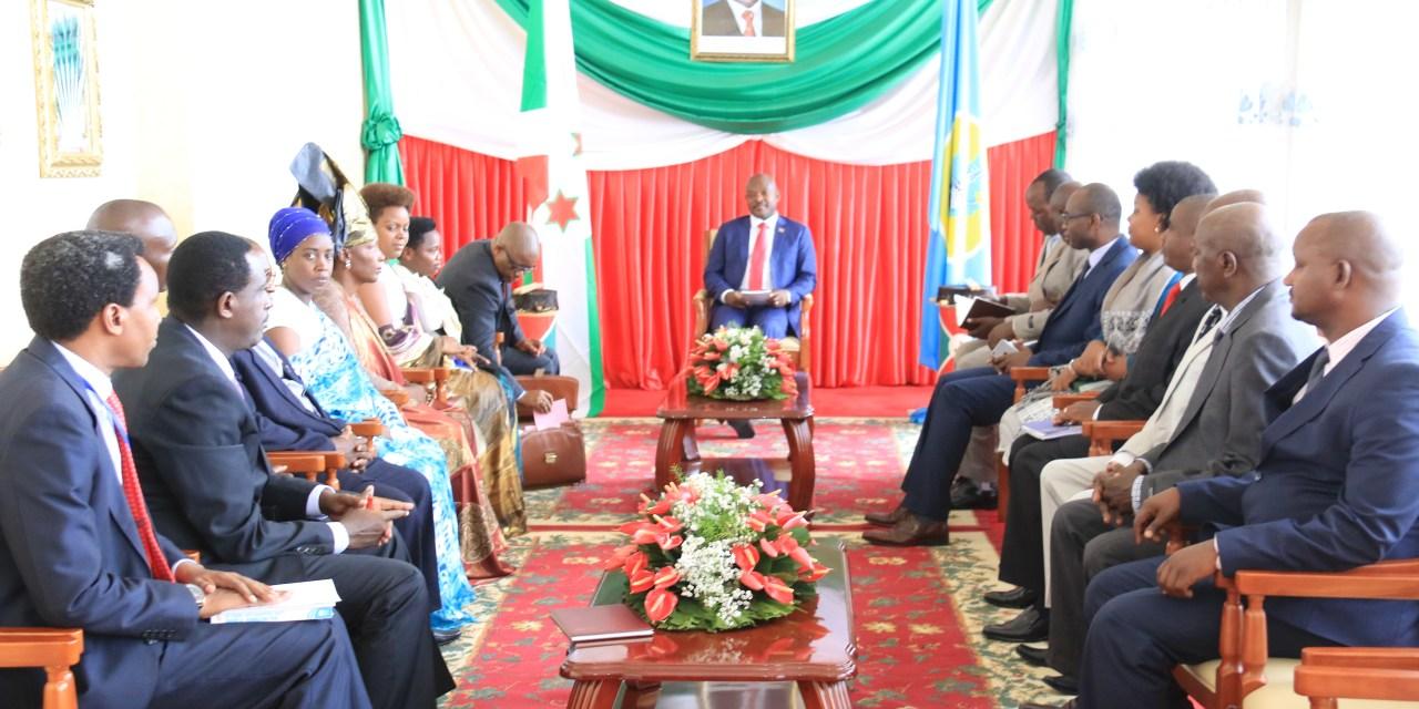 La CNDI a présenté son rapport final au Président Nkurunziza