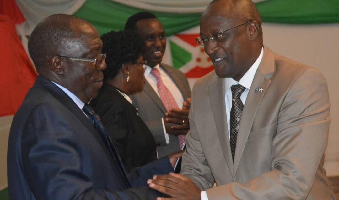 Café politique de Kayanza sous le patronage du Premier Vice-Président de la République du Burundi