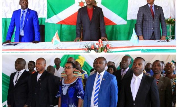 Le Chef de l'Etat Son Excellence Pierre Nkurunziza en visite en commune urbaine de Muha