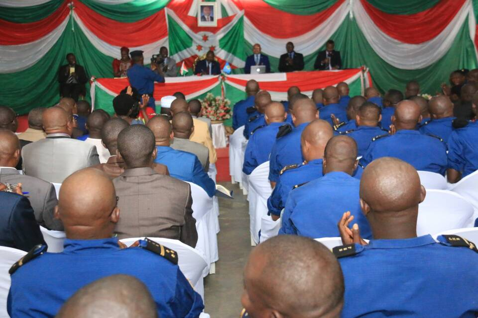 Réunion trimestrielle d'évaluation de la sécurité avec Son Excellence Pierre Nkurunziza