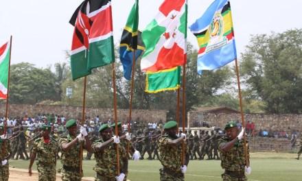 Les jeux militaires de l'EAC ouverts à Bujumbura
