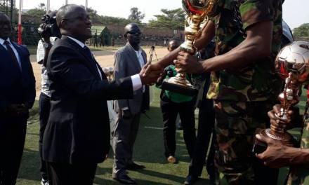 Le Premier Vice-Président de la République clôture de la 11ème session des jeux militaires de l'EAC