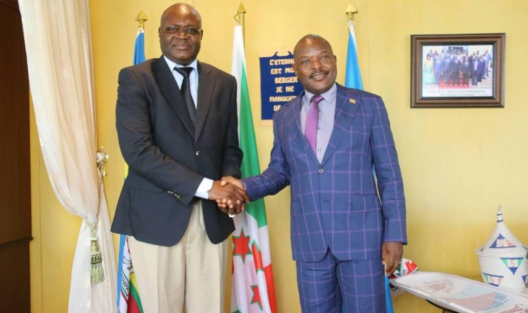 Le Représentant de la BAD fait ses adieux à Son Excellence Pierre Nkurunziza