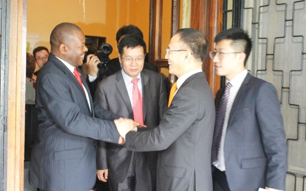 Le Chef de l'Etat reçoit en audience le Ministre Assistant Chinois des Affaires étrangères