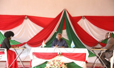 Le Chef de l'Etat anime la conférence publique annuelle à Kayanza