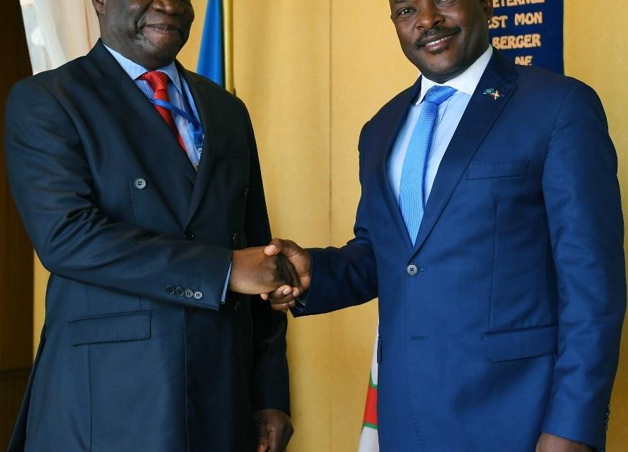 Le Président de la République reçoit le nouveau Représentant de l'Union Africaine