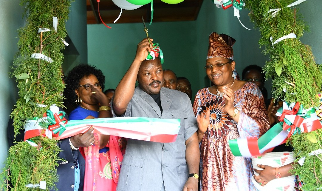 Son Excellence Pierre Nkurunziza ouvre officiellement la Radio Buntu à Buye