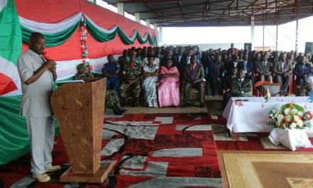 Le Chef de l'Etat à Karusi pour la moralisation de la société