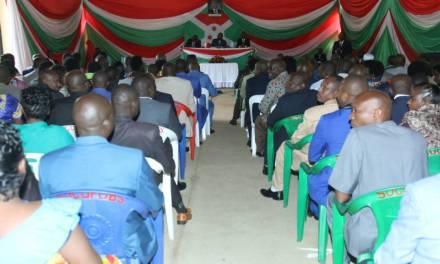 Le Chef de l'Etat rencontre les Gouverneurs des provinces et les administrateurs communaux