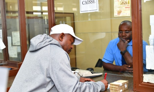 Le Chef de l'Etat dépose à la BRB pour la 4ème fois sa contribution aux élections
