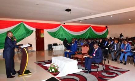 Le Chef de l'Etat en réunion avec les intervenants dans l'agriculture, l'élevage et l'environnement