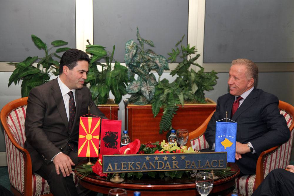 Image result for macedonia new albanian president
