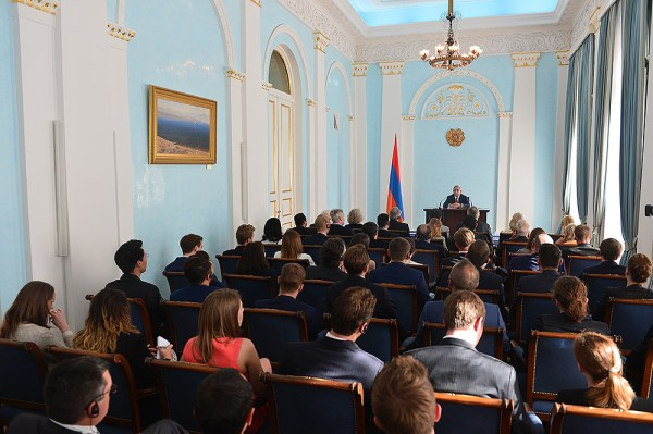 President received participants of the 15th Conference of ...