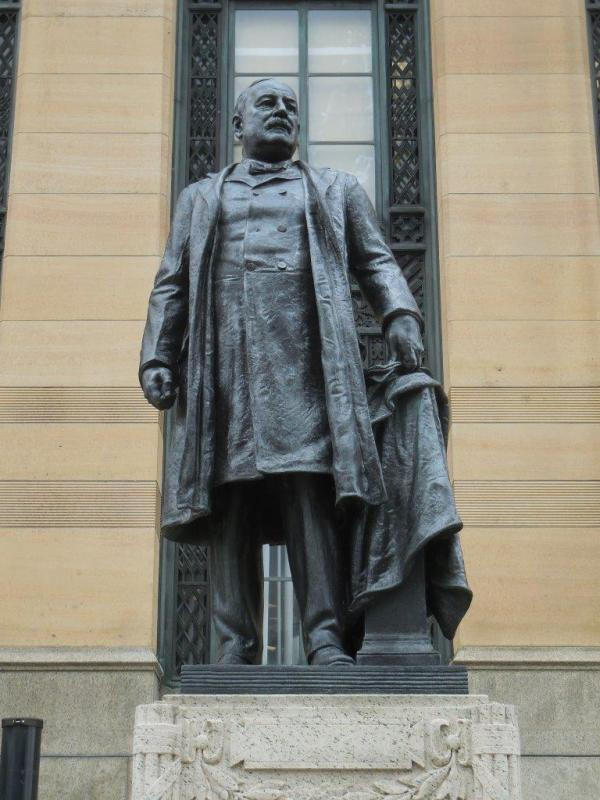 Grover Cleveland Statue - Buffalo, New York
