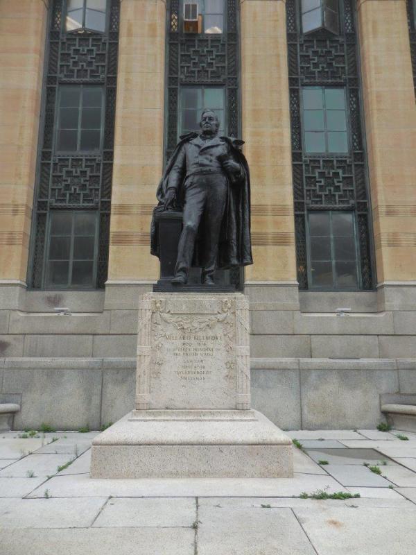 Millard Fillmore Statue - Buffalo, New York