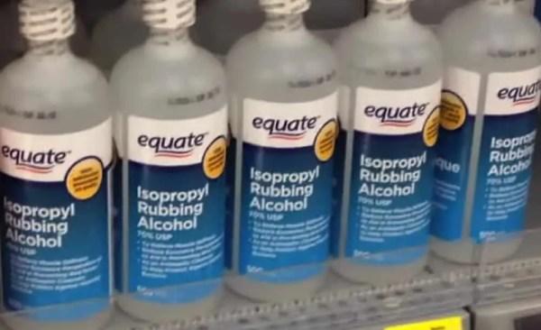 Rubbing-Alcohol-bedbugs Bedbugs Presidio Pest Management