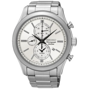 SEIKO MENS 45MM 100M ALARM/CHRONO