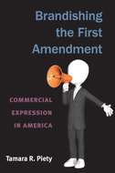 Book cover for 'Brandishing the First Amendment'