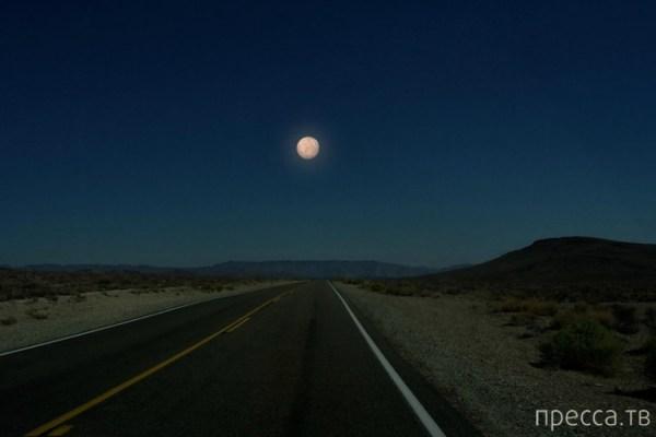 Вид ночного неба, если бы вместо Луны были другие планеты ...