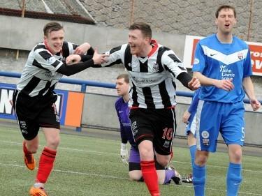 Elgin striker Shane Sutherland