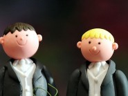 Same-sex marriage was legalised in Scotland late last year