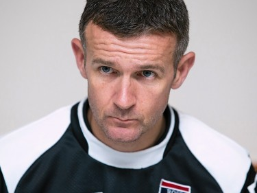 Staggies manager Jim McIntyre