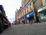 Marischal Street in Peterhead